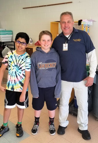 Students Spotlight- Mr. B's Buddies at West Elementary School