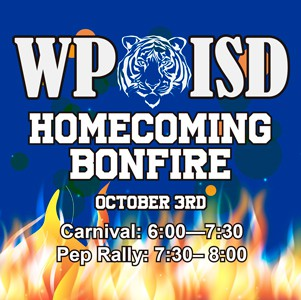 3rd Annual Homecoming Bonfire