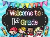 New 1st Grade Teacher