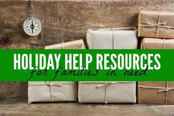 SHS-Family Holiday Needs