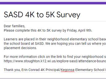 4K to 5K Survey