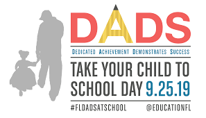 Dads Take Your Child to School Day