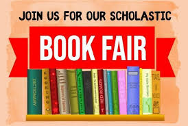 SCHOLASTIC ONLINE BOOK FAIR COMING IN EARLY APRIL- WATCH FOR DETAILS!!