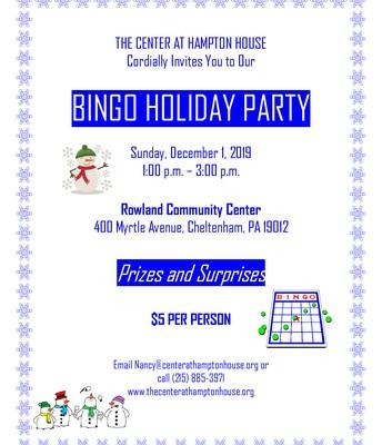 Bingo Holiday Party