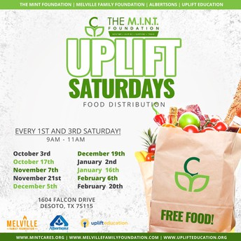 Food Distribution Saturdays Closing Soon!