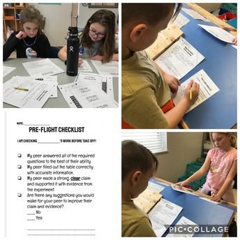 PreFlight Checklist with 4th Grade!