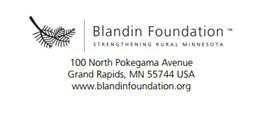 Announcing: Blandin Foundation Educational Grant APPLICATION