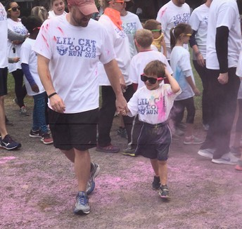 Thank you for supporting the Lil' Cat Color Run
