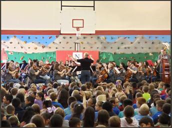 Churchill Orchestra Performance
