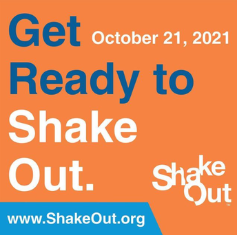Great ShakeOut: Drop, cover and hold on