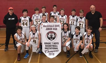 Grade 7A Boys Basketball