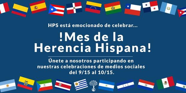 Hispanic Heritage Month Grahpic