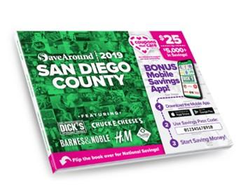 SaveAround Coupon Book Fundraiser