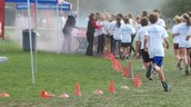 Color run in action