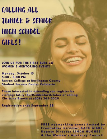 Burlington County Women's Mentoring Event