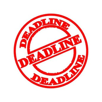 Deadline TODAY