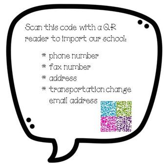 18-19 LSE Contact Info QR Code