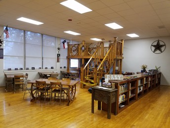 Woodsboro's Relocated Elementary Library