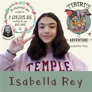 """CBK Eighth Grader Isabella Rey Publishes """"Tibiri's Adventures"""""""