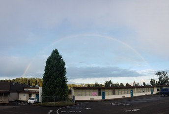 Rainbow over Charlemagne