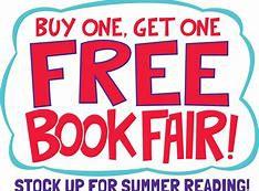 BOGO Book Fair During Open House,  Monday April 15th