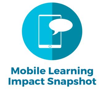 Speak Up Mobile Learning Survey