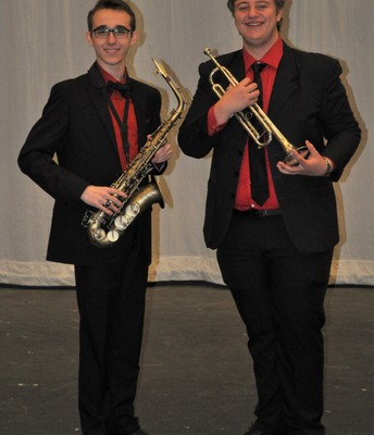 All State Jazz Band Students
