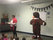 The Gingerbread Man Made a Visit to our Kindergarten Students!!!