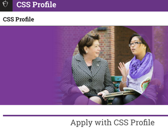 CSS Profile (Select Private Colleges)