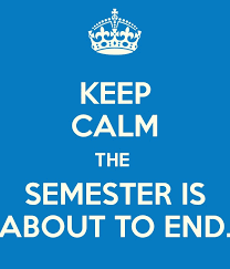 Semester 1 Exams are Coming!