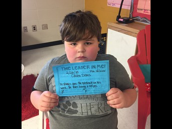 Leader of the Month: Caiden Evans