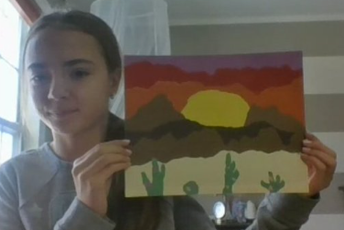 Paper Landscape in Art