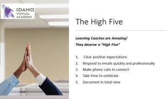 Communication High Five