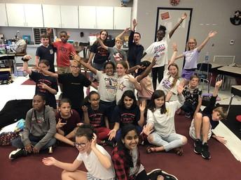 Blackman Elementary Drama Club lead by Mrs. Holloway.