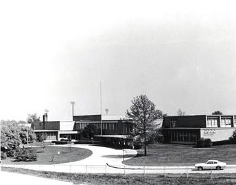 Hixson before highway 44 was built