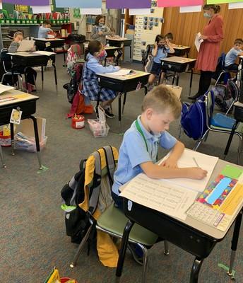 2nd grade working