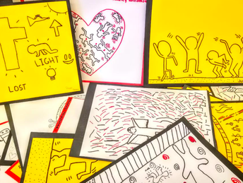 YOUR MONEY AT WORK: CPMS Students Take On Keith Haring