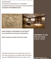 Dura-Europus Tour at Yale Art Gallery