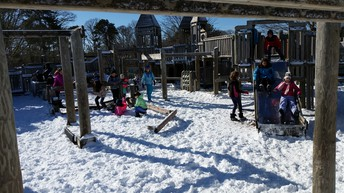 Recess in the winter!