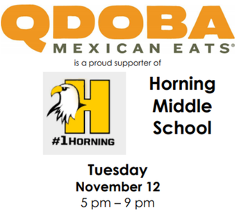 Qdoba Fundraiser Coming Soon!  Come support your school!