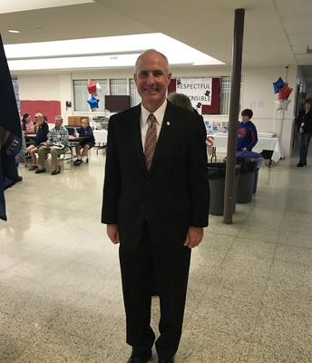 State Representative, Todd Stevens, addressed the veterans.