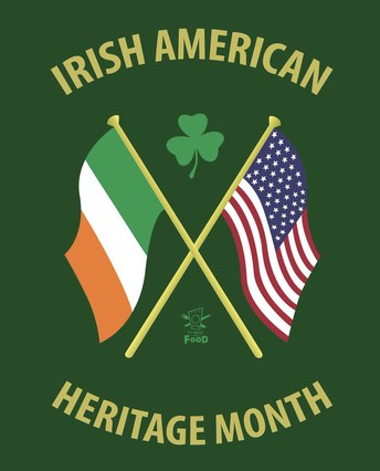 ☘️ Irish American Heritage Month