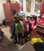 5th Grade Science fun!