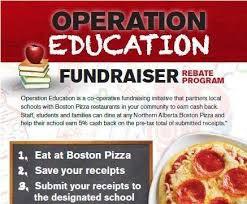 Boston Pizza Fundraiser