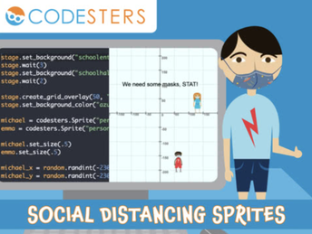 Social Distancing Sprites (6-12)