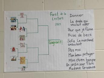 La forêt de la lecture:  titres français