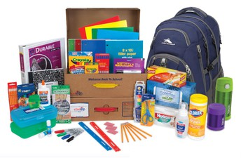 School Supplies Kits/ Kits de útiles escolares