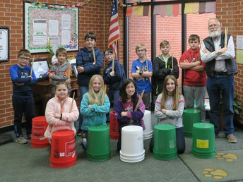 Bucket Drumming Club