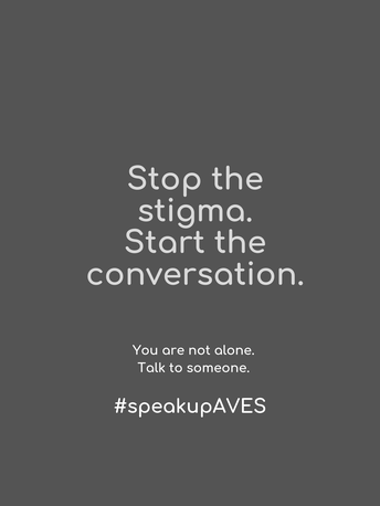 September Is #SpeakUpAves Month