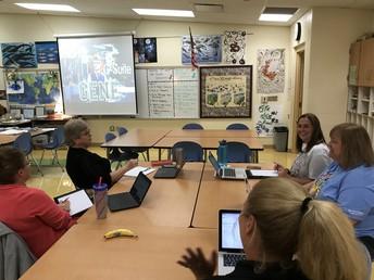 Teachers Learning Google